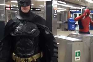 The Spiderman vs. Batman Video Dukes it Out in Toronto