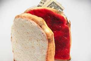 The Peanut Butter and Jelly Wallet Sandwich Looks Deceptively Delicious