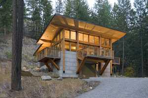 The 'Wintergreen' by Balance Associates Architects is Gorgeous