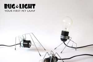 The 'Bug Light' Pet Lamp is Adorable and Easy to Care For