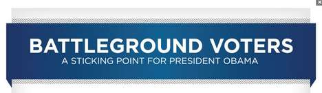Battleground Voters: A Sticking Point for President Obama
