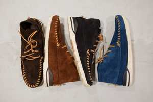 The visvim Shoes for 2012 are Perfect for the Street or the Open Road