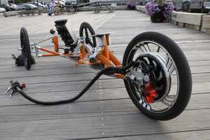 The Tribey 'Electric Trike' Follows is Eco-Friendly