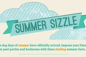 The 'Summer Sizzle' Infographic Provides Insightful Facts