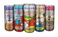 Comic-Inspired Cans