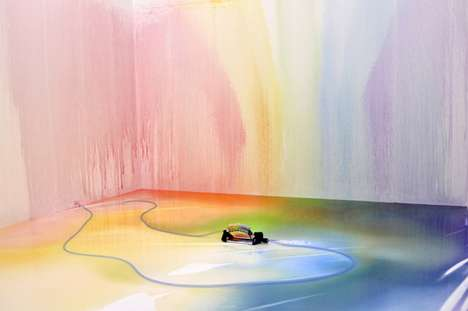 Rainbow Sprinkler by Edwin Deen