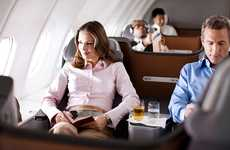 V-Shaped Airplane Seats - The Lufthansa Business Class Seats are Just like In-Flight Recliners