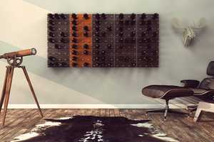 The 'Stact' Wine Rack Changes the Way Alcohol is Stored and Presented