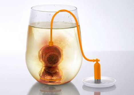 Deep Sea Diver Tea Strainer