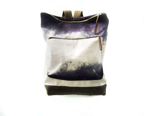 Ombre Canvas City Backpacks from Mclovebuddy