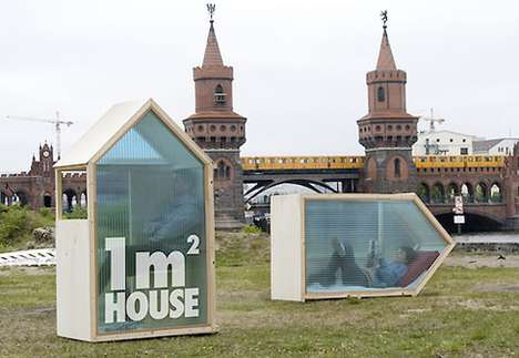 Miniature Refugee Homes