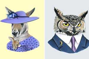 Animal Portraits by Ryan Berkley are Suave and Sophisticated