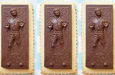 Cocoa Carbonite-Covered Snacks