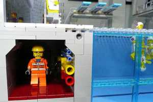 The 'LEGO Olympic 2012 Aquatic Center' Depicts this Year's Competitors