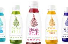 Doodled Food Branding - Koel Fresh Packaging is Infused with a Playful Palate of Creativity