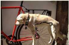 Pet-inspired Bike Racks