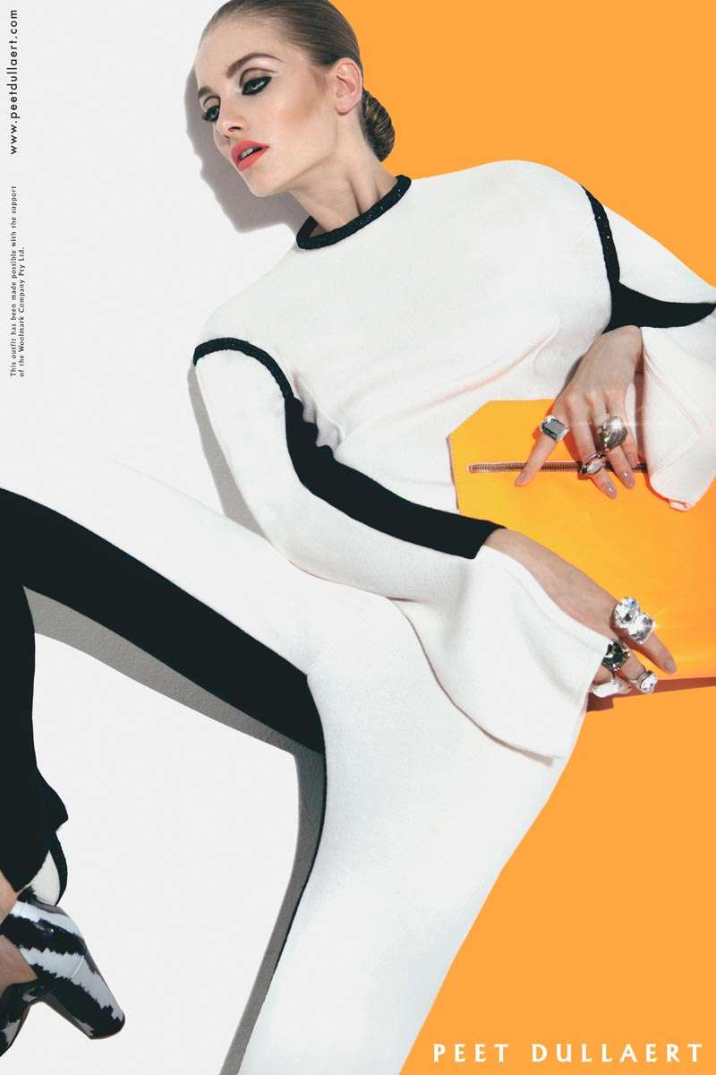 Bold Asymmetrical Fashion Ads