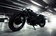 Matte Carbon Motorbikes