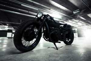The Bandit9 'Nero' Motorcycle is Dangerously Dark