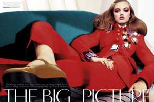 'The Big Picture' in Vogue Australia September 2012 Opts for Preppy