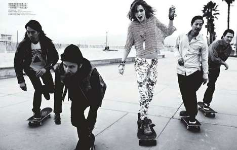 Savvy Skateboarding Editorials
