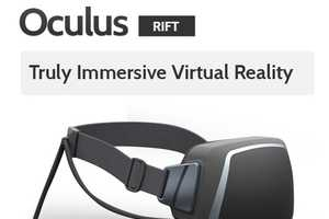 The 'Oculus Rift' Headset Provides an Interactive Experience