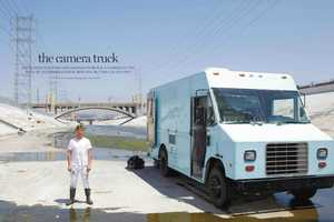 The Camera Truck by Ian Ruhter is a Moving Time Machine
