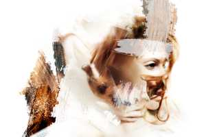 Nadia Wicker Modifies Images to Achieve a Watercolor-Like Effect