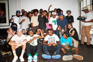 Odd Future Photo Series by Terry Richardson with Frank Ocean