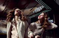 Parisian Sister Fashion Ads