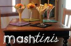 The Mashed Potato Martini Infuses Your Festive Favorites