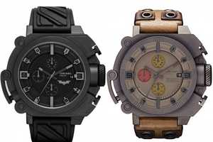 The Batman and Bane Wristwatches are a Limited Collection From Diesel
