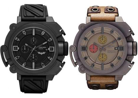Batman and Bane Wristwatches