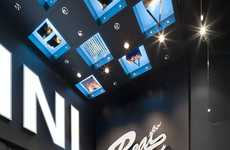 Stylish Auto-Branded Pop-Ups - MINI Lifestyle Store Showcases Fashion & Accessory Products