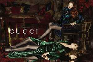 The Gucci Fall 2012 Campaign is Gothic Glam