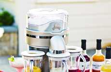 Efficient Cocktail Appliances - The Margaritaville Trio Frozen Concoction Maker is Party-Proof