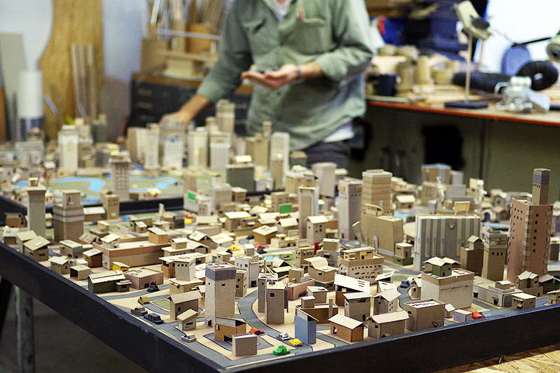 Miniature Paper Cities