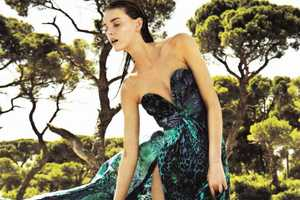 The Romana Umrianova for Marie Claire Greece Feature is Luxe