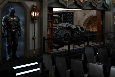 Dark Knight Themed Home Theatre