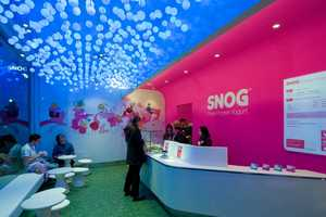 The Cinimod Studio SNOG Store is Playful and Childlike