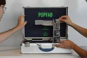 PopFab by Ilan Moyer and Nadya Peek Fits in a Briefcase & Works Anywhere