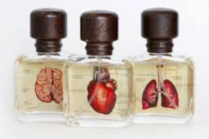 Van Der Lichaam Aromatherapy Packaging is Biologically Branded