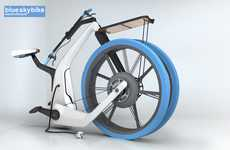Portable Powered Bicycles