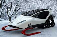 This Snowmobile by Michal Bonikowski Increases Speed and Comfort