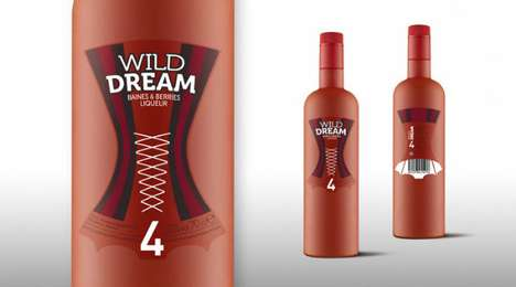 Wild Dream Liqueur packaging