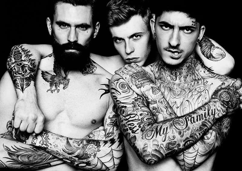 Badass Body Art Editorials