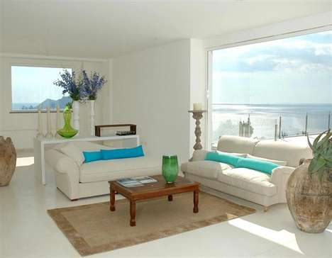 Mod Mediterranean Villas - Relais Blu Belvedere Offers Contemporary Amalfi Accommodations