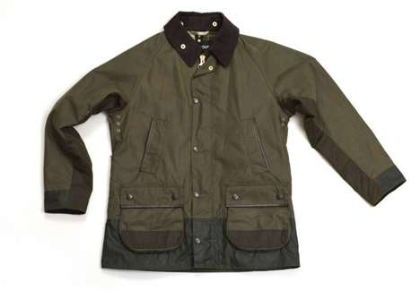 Barbour x Wood Wood 10th Anniversary Jacket