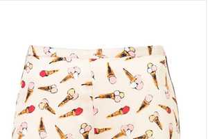 The Top Shop Ice Cream Print Shorts Will Stimulate Your Sweet Tooth
