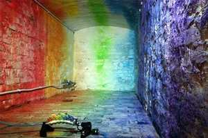 From Pulsing Light Walls to Rainbow Graffiti Papercraft